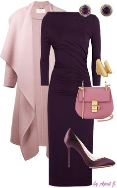Beeren ChloeMantel Vivienne Westwood Kleid Vintage Amethyst Ohrring Blush Beeren ChloeMantel Vivienne Westwood Kleid Vintage Amethyst Ohrring Read more to find out. Classy Outfits, Chic Outfits, Fashion Outfits, Womens Fashion, Fashion Trends, Fashion 2018, Summer Outfits, Dress Outfits, Fall Outfits