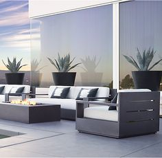 "108"" Marbella Aluminum Sofa"