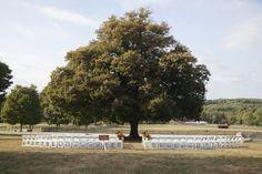 Outdoor Ceremony Ideas | Springton Manor Farm Wedding | Philadelphia Wedding Photographer | Destination Wedding Photographer
