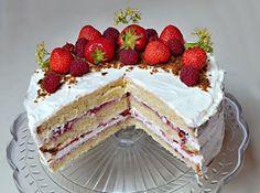 Cherry and pistachio mini-cakes - HQ Recipes Nake Cake, Mini Cakes, Cake Pans, Pistachio, Quick Easy Meals, Vanilla Cake, Sweet Recipes, Baking Recipes, Cheesecake