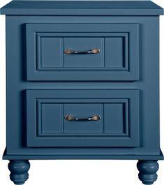 Cottage Colors Blue Dresser & Mirror Set-Dresser/MirrorsColors