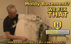 Moisture problems lead to #MOLD   All molds have the potential to cause health effects.   Molds produce allergens, irritants, and in some cases, toxins that may cause reactions in humans. Occupants may report odors and health problems: headaches, breathing difficulties, skin irritation, allergic reactions,    - EPA.gov  HydroArmor  can REMOVE & PREVENT mold in your #HOME! Protect your #Family. CALL FOR A #FREE ESTIMATE 1-888-808-9523 or VISIT www.HydroArmor.com  #Basement #HomeImprovement…