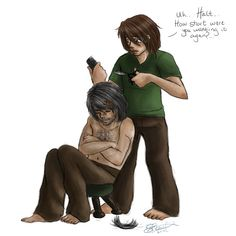 RA: Halt needs a hair cut by omni-time