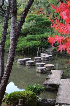 Crossing the pond - Heian Jingu, Kyoto | Flickr - Photo Sharing!