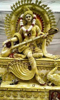 Saraswati Murti, Durga Ji, Saraswati Goddess, Saraswati Photo, Saraswati Statue, Kali Hindu, Mahakal Shiva, Asian Art Museum, Radha Krishna Wallpaper