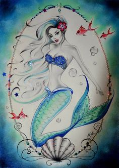 Anne Cha art - mermaid