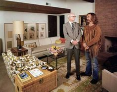 David Crosby with his Father