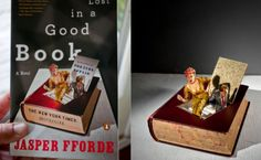 These book dioramas by Thomas Allen are terrific!
