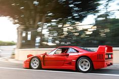 Ferrari F40 at Monaco #ferrari #italiandesign