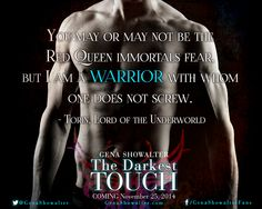 A snippet from The Darkest Touch
