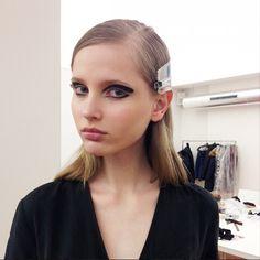 The Best Backstage Beauty Instagrams from Paris Fashion Week via @byrdiebeauty