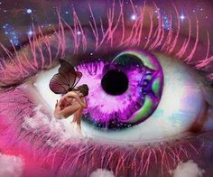 Eye Art...Fairy...By Artist Unknown...