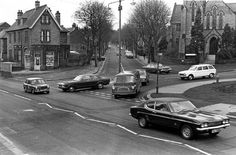 Millhouses Wesleyan Methodist Church, Whirlowdale Road and Millhouses Lane (off to the right) from Abbeydale Road looking towards the Chemist Shop No. Sheffield England, Nice Photos, South Yorkshire, Places Of Interest, My Town, Chemist, Classic Mini, Pinterest Marketing, Old Pictures