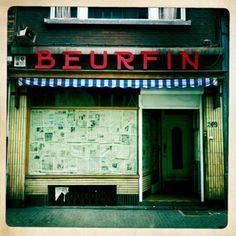 Devanture oubliée... Bruxelles