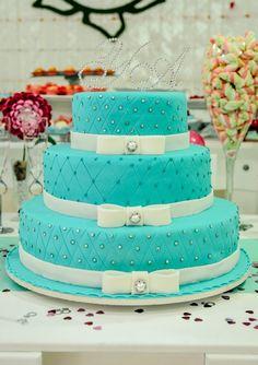 lchf mug cake Pretty Cakes, Cute Cakes, Beautiful Cakes, Yummy Cakes, Amazing Cakes, 15th Birthday Cakes, Tiffany Cakes, Quinceanera Cakes, Sweet 16 Cakes