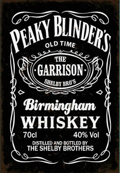 BigBazza Peaky Blinders Gang The Garrison Pub whisky whiskey Tv Show Fan Gift Gift Coffee Tea Office Kitchen Novelty Cup Mug Coaster - Metal Peaky Blinders Quotes, Peaky Blinders Poster, Peaky Blinders Wallpaper, Peaky Blinders Series, Peaky Blinders Thomas, Whiskey For Colds, Best Bourbon Whiskey, Whiskey Gifts, Whiskey Sour