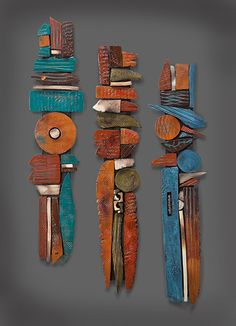 Gallery — Rhonda Cearlock,Large Shards How To Produce Wood Art ? Wood art is typically the task of shaping about and inside, provided the surface of something is flat. Ceramic Wall Art, Wood Wall Art, Wall Sculptures, Sculpture Art, Keramik Design, Driftwood Crafts, Paperclay, Assemblage Art, Clay Art