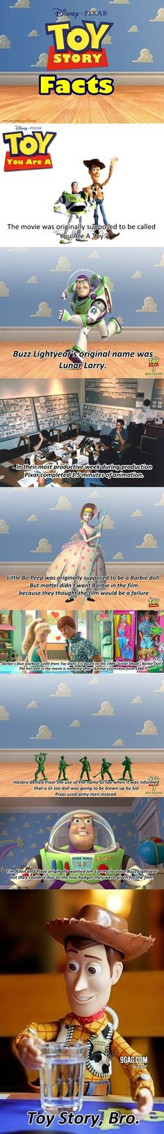 Top Ten Toy Story Facts I love learning disney secrets and I love toy story
