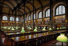Bibliothèque Sainte-Geneviève, Paris, Francia (Europa)