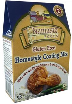Namaste Foods, LLC. - Made the homestyle coating on chicken ... delicious .. also good on tofu, seafood, etc