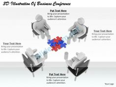 1813 3D Illustration of Business Conference Ppt Graphics Icons Powerpoint #Powerpoint #Templates #Infographics