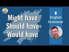 """Learn how to use this common English grammar right away with real examples. """"The bus SHOULD HAVE arrived 10 minutes ago."""" Sound like a native! Learn English Grammar, Might Have, Free Blog, Vocabulary, Student, Learning, Watch, Youtube, Clock"""