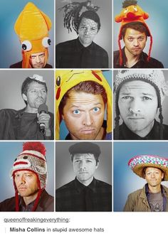 Misha Collins has done it again