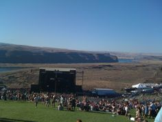 The Gorge Amphitheater~many many memories of this place  ;)