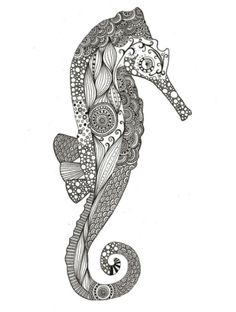 Sea Horse by Rosietoes