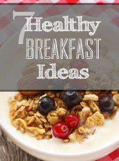 7 Healthy Breakfasts to Kick-start your day