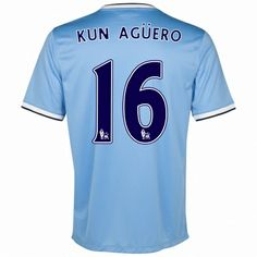 Manchester City, Kun Aguero, City C, Nike, Soccer, Football, Sports, 2013, Html