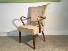 Art Deco fauteuil fauteuil Club Cocktail scandinave Vintage Accent Chairs, Armchair, Club, Furniture, Vintage, Home Decor, Lounge Chairs, Art Deco, Upholstered Chairs