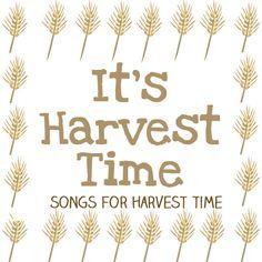 harvest songs for preschool and kindergarten
