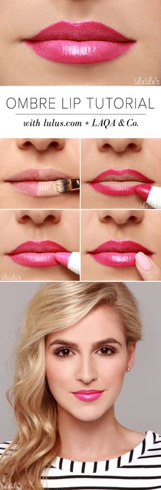 LuLu*s How-To: Pink Ombre Lip Tutorial