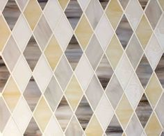 Harlequin in a warm combination of Delche, Pure, Driftwood and Pewter art glass. Mosaic Glass, Glass Art, Back Painted Glass, Pewter Art, Calacatta Gold, Style Tile, Driftwood Art, Deck Design, Interior Styling
