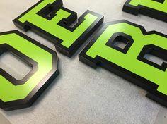 Custom Dimensional Letters