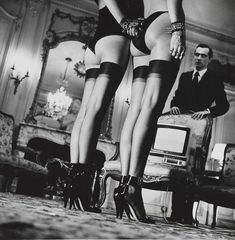 Bid now on Two Pairs of Legs in Black Stockings, Paris by Helmut Newton. View a wide Variety of artworks by Helmut Newton, now available for sale on artnet Auctions. Cindy Crawford, Most Popular Image, Grace Jones, Powerful Images, Contemporary Photographers, Famous Photographers, Celebrity Photographers, Catherine Deneuve, Claudia Schiffer