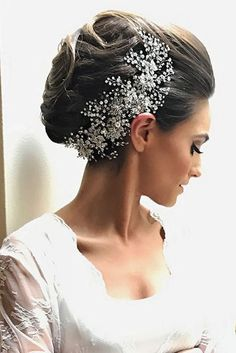 30 Perfect Wedding Hairstyles For Medium Hair ❤ There is a big variety of wedding hairstyles for medium hair. We've collected most popular hairdos: romantic and tender, with unique accessories ext. See more: http://www.weddingforward.com/wedding-hairstyles-for-medium-hair/