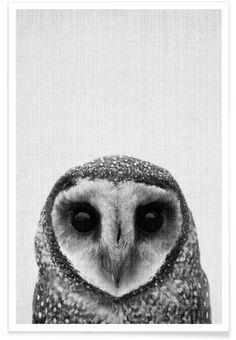 Print 40 en Affiche premium par Lila x Lola | JUNIQE