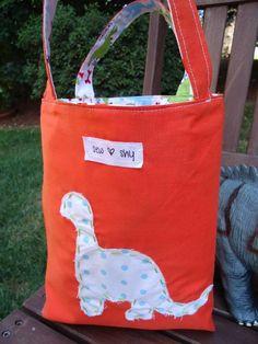 Dinosaur Bag by ShyMomma | Sewing Ideas