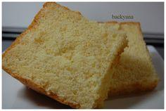 Backen mit Backyana: Zitronen Chiffon Kuchen/ Lemon Chiffon cake