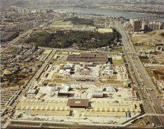 1982년 무역박람회 당시 코엑스 부지