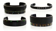 These Old Camera Lenses Have Been Turned Into Bracelets