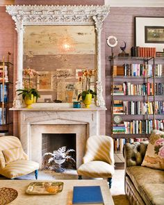 What a difference an antique can make? Interior Design by Celerie Kemble.