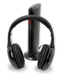 Loving this Wireless On-Ear Headphones & Transmitter,$13***** on #zulily! #zulilyfinds