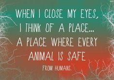 Choose compassion, freedom, love and peace for all animals. Please go #vegan