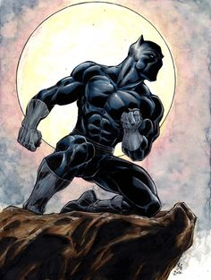 Black Panther by Brad Green