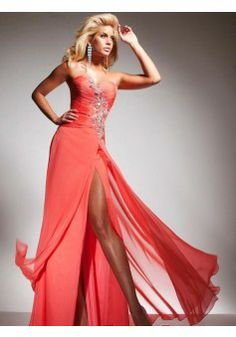 A-line Sweetheart Sleeveless Floor-length Chiffon Prom Dress #FC082 - See more at: http://www.beckydress.com/prom-dresses/2014-prom-season.html?p=13#sthash.yybqzoD8.dpuf