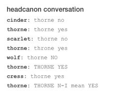 Thorne yes