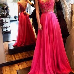 Charming Prom Dress,Chiffon Prom Dress,Long Prom Dresses,Evening Formal Gown,Beading Party Dress